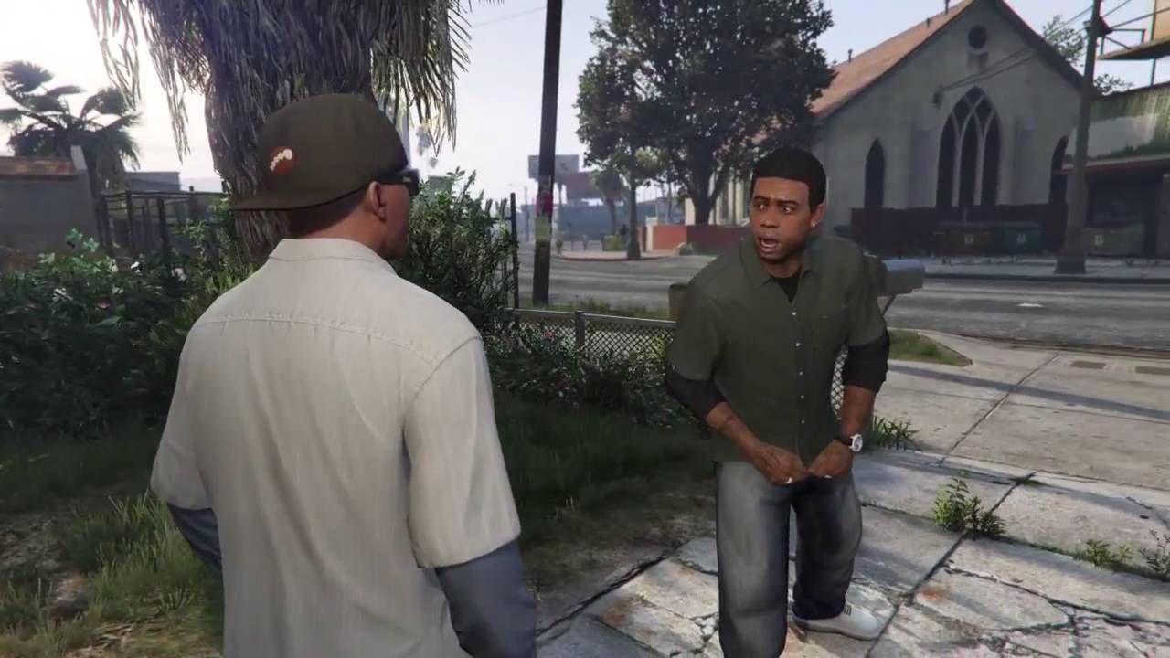 GTA 5, gli interpreti di Lamar e Franklin ricreano nella vita reale una delle migliori scene del gioco