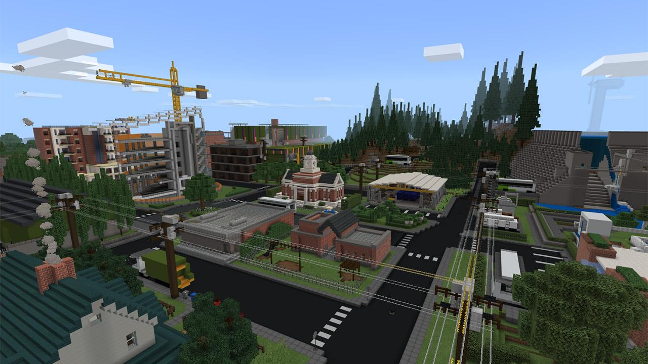 Minecraft Education Edition ha ora una nuova mappa dedicata alla sostenibilità ambientale