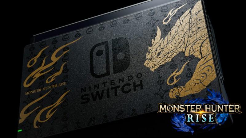 Monster Hunter Rise, in arrivo delle edizioni speciali di Nintendo Switch