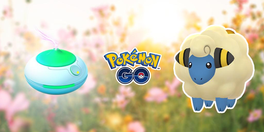 Pokémon GO, domenica ci sarà la nuova giornata dell'aroma con Mareep e altri Pokémon