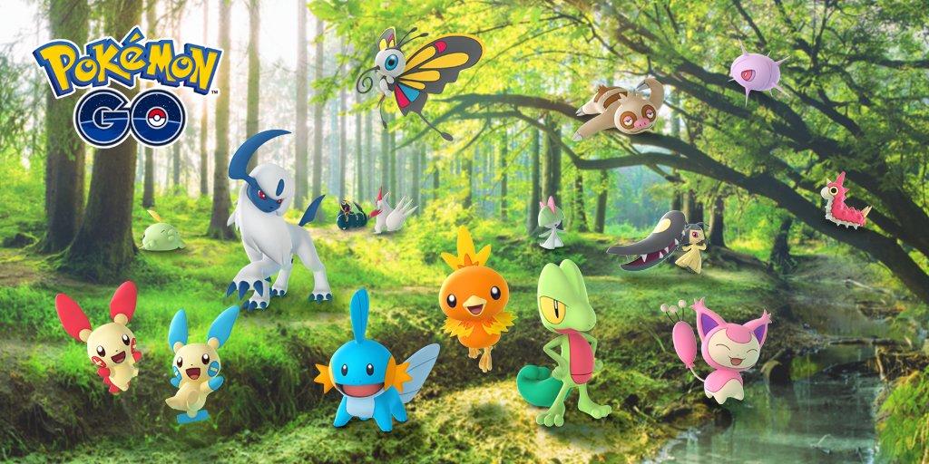 Pokémon GO, tutti i dettagli sul nuovo evento della regione di Hoenn, tra cui la data