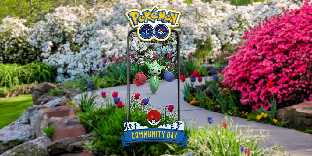 Pokémon GO, Roselia sarà il Pokémon del Community Day di febbraio 2021: data ed altri dettagli