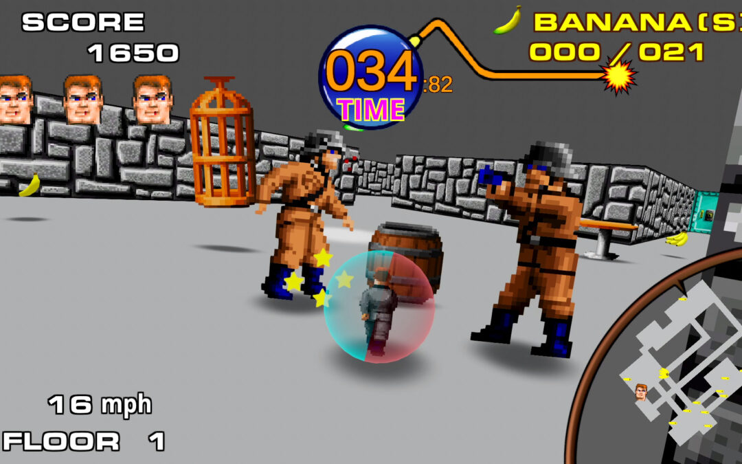 Return to Castle Monkey Ball è un fantastico crossover tra Super Monkey Ball e Wolfenstein 3D