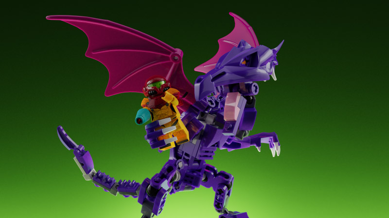 Metroid, Samus e Ridley in azione nel nuovo set LEGO creato dai fan