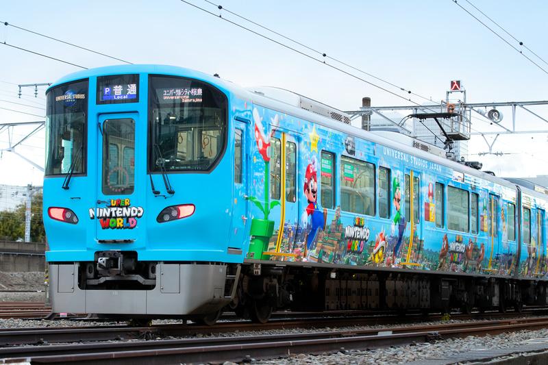 Super Nintendo World, in Giappone arriva un treno a tema