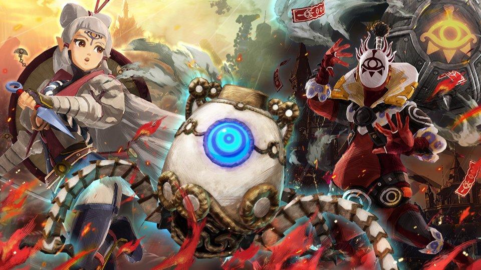 Super Smash Bros. Ultimate, in arrivo gli Spiriti di Hyrule Warriors L'Era della Calamità