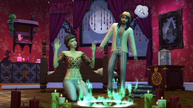 The Sims 4, il primo DLC del 2021 è Fenomeni Paranormali, svelata la data di uscita