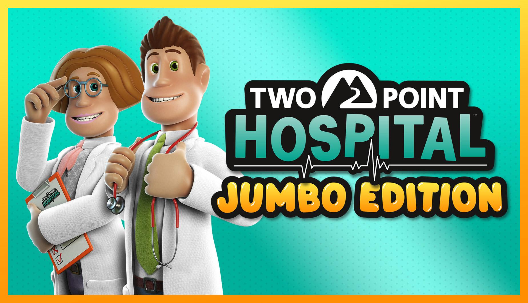 Two Point Hospital, la Jumbo Edition porta tutte le ultime espansioni su console