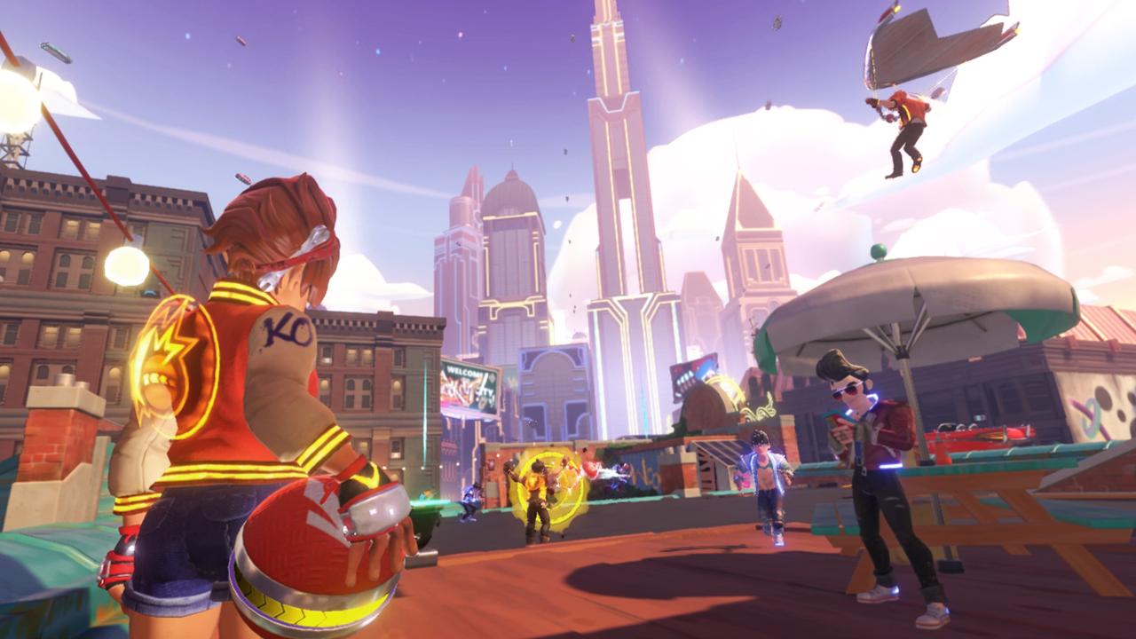 Knockout City è gratis fino al raggiungimento del livello 25