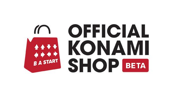 Konami apre il suo negozio ufficiale, il Official Konami Shop
