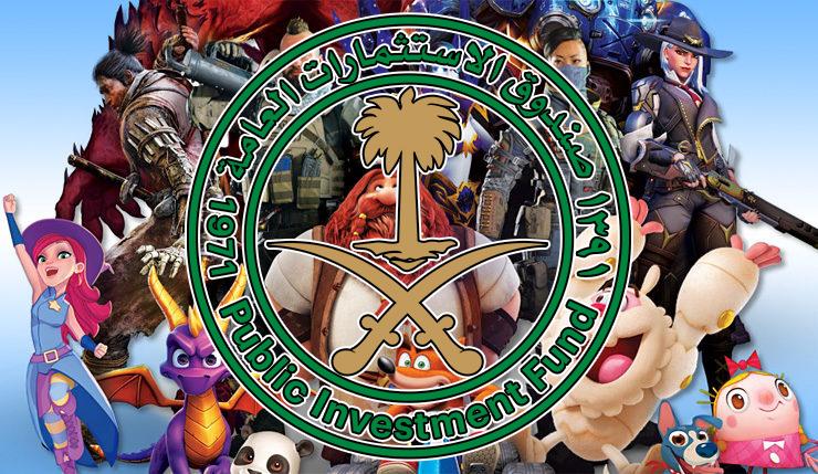 Il Public Investment Fund dell'Arabia Saudita investe in EA, Activision e Take-Two