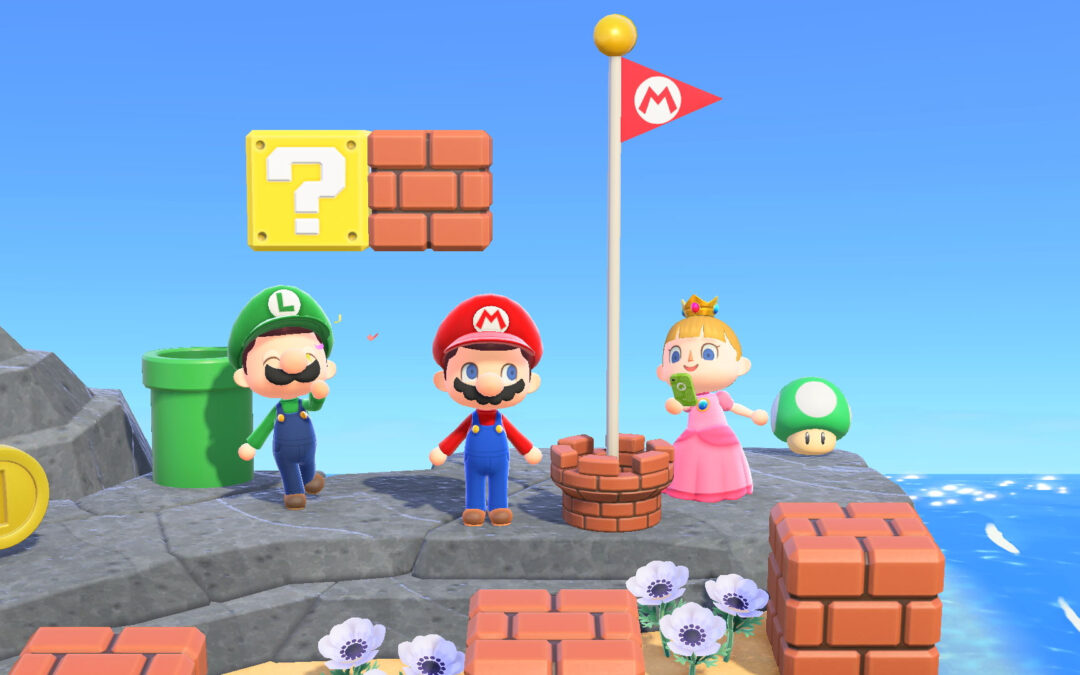 Animal Crossing New Horizons, in arrivo oggetti a tema Super Mario