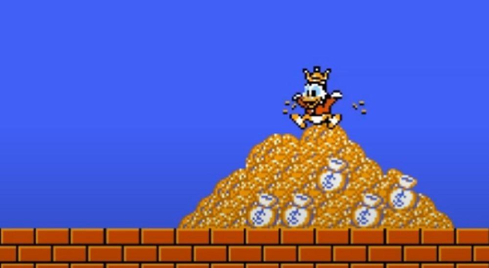 DuckTales per NES aveva un finale in cui Zio Paperone rinunciava alla sua fortuna