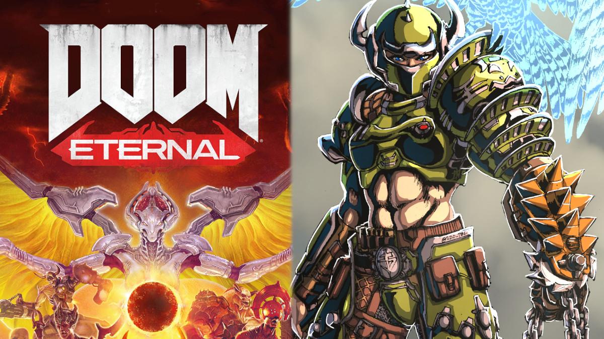 Doom Eternal, il director afferma di aver pensato molto ad una Slayer femmina
