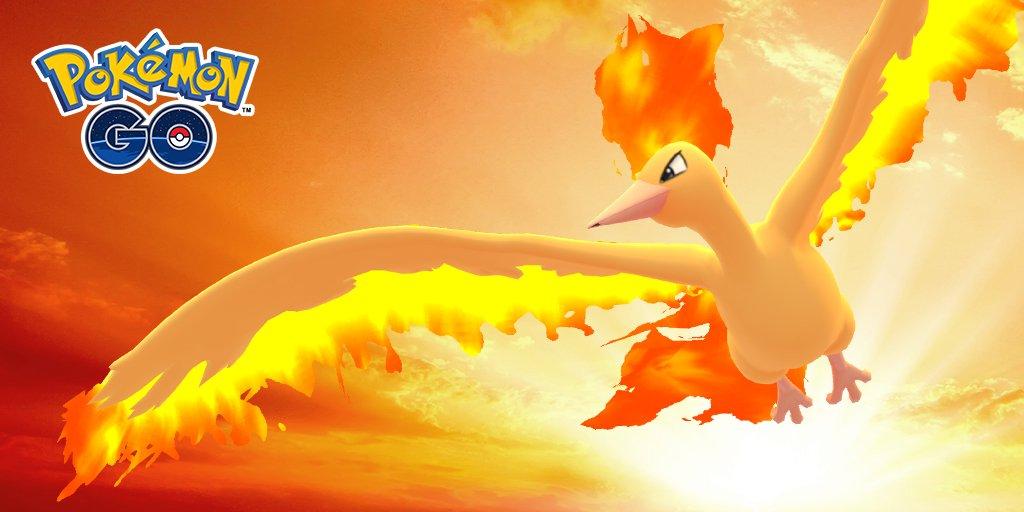 Pokémon GO, guida al raid di Moltres: debolezze e migliori counters