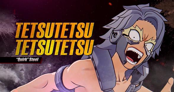 My Hero One's Justice 2, Tetsutetsu Tetsutetsu è disponibile da oggi