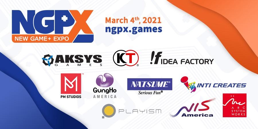 New Game+ Expo 2021 annunciato per il 4 marzo