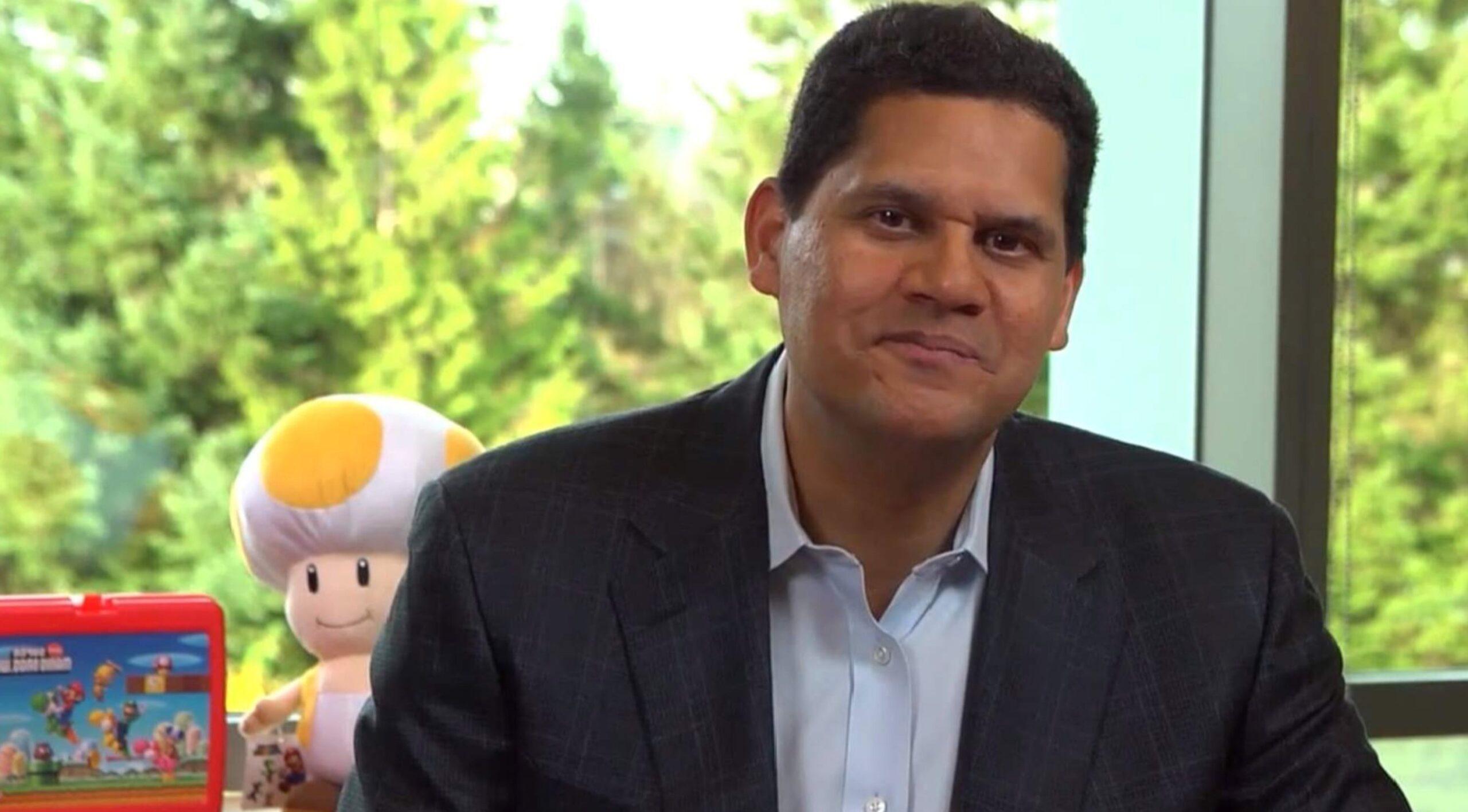 Reggie Fils-Aimé, ex presidente di Nintendo of America, è al lavoro su un libro sulla sua storia