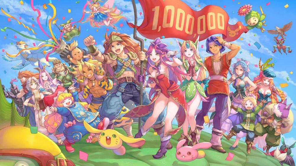Trials of Mana ha venduto più di 1 milione di copie, annuncia Square Enix
