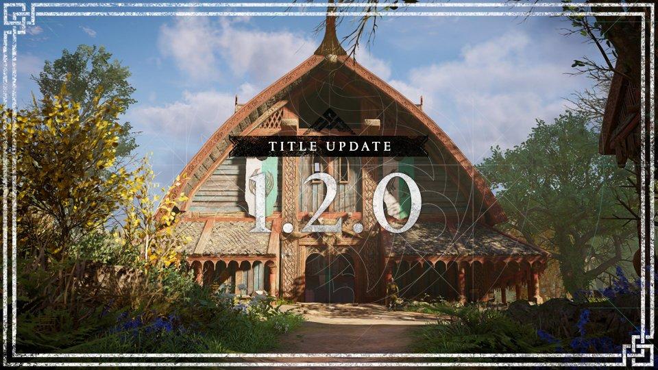 Assassin's Creed Valhalla, disponibile da domani l'aggiornamento 1.2.0: le novità del nuovo Title Update