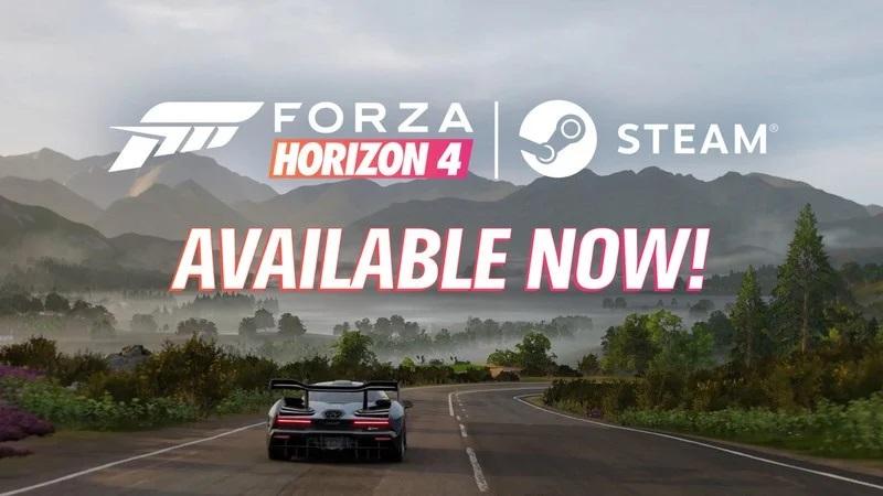 Forza Horizon 4 è ora disponibile su Steam con il cross-play