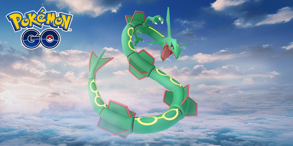 Pokémon GO, guida raid Rayquaza: attaccanti, debolezze e counters