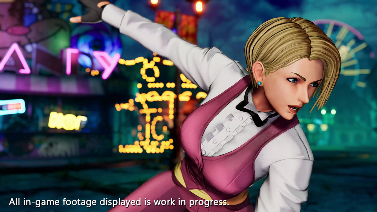 The King of Fighters XV, la meravigliosa King svelata dal nuovo trailer