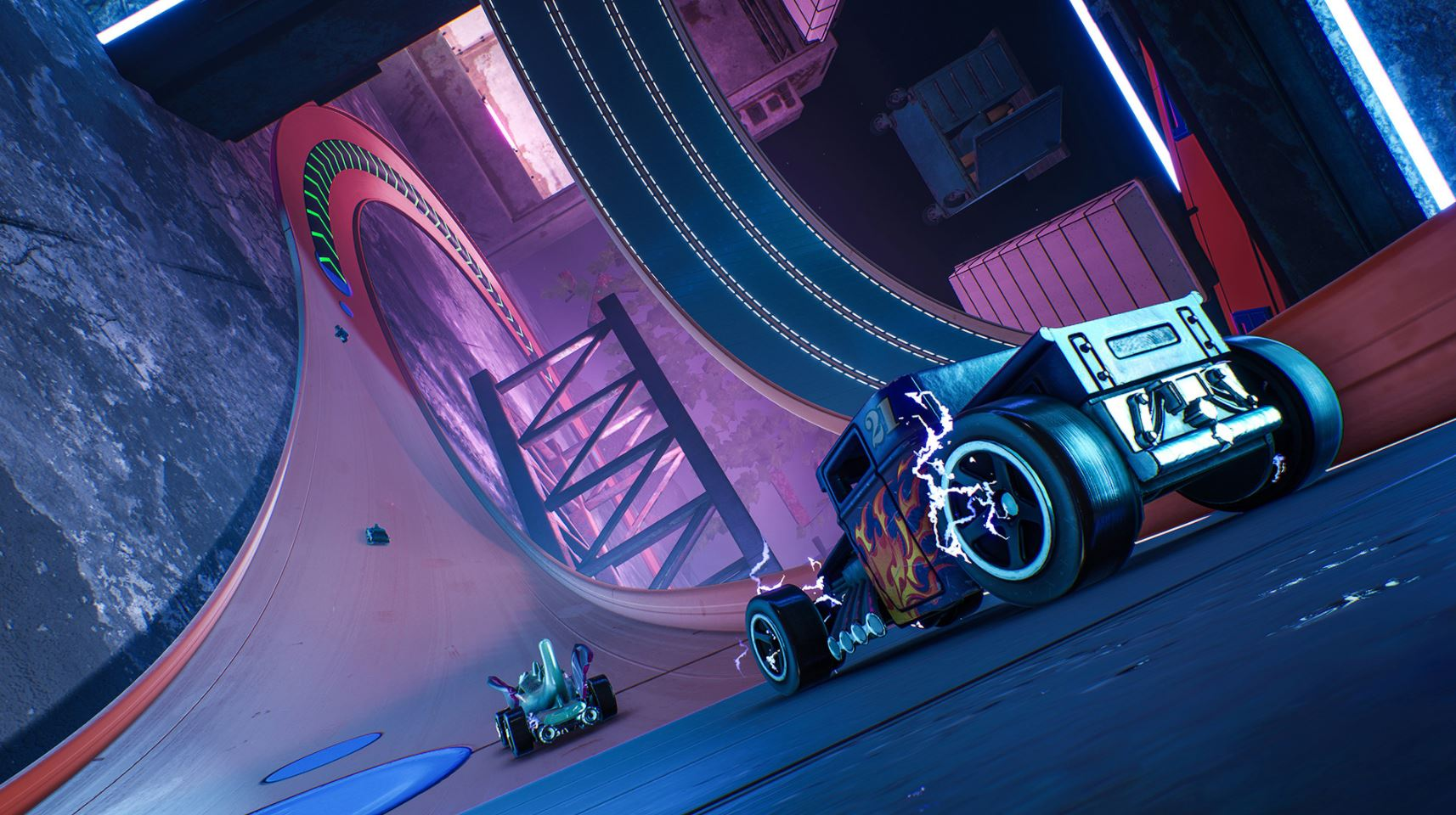 Hot Wheels Unleashed si mostra finalmente nel primo gameplay trailer