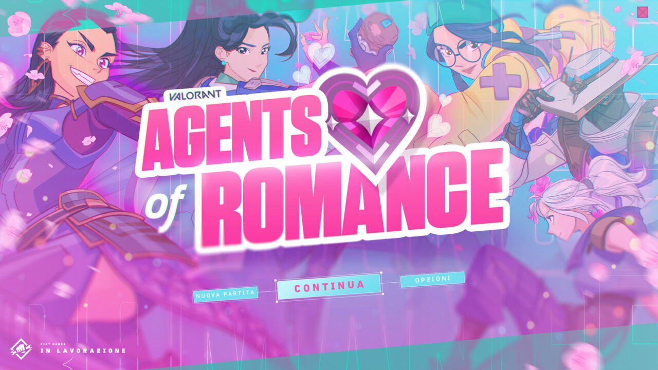 Valorant Agents of Romance annunciato per PC, è un nuovo dating sim