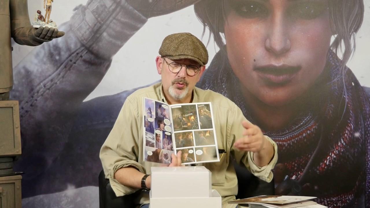 È morto Benoît Sokal, autore di Syberia: aveva 67 anni
