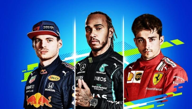 F1 2021, Hamilton, Verstappen e Leclerc sulla copertina ...