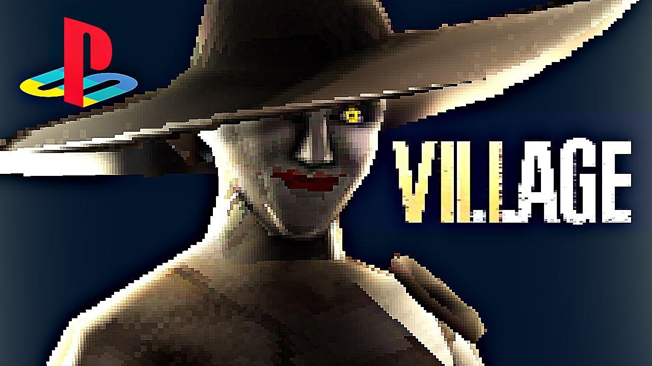 Resident Evil Village diventa un gioco per PS1 grazie al nuovo demake