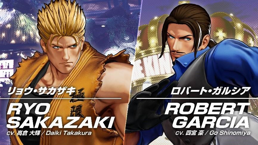 The King of Fighters XV, Ryo Sakazaki e Robert Garcia si fanno vedere in un nuovo trailer