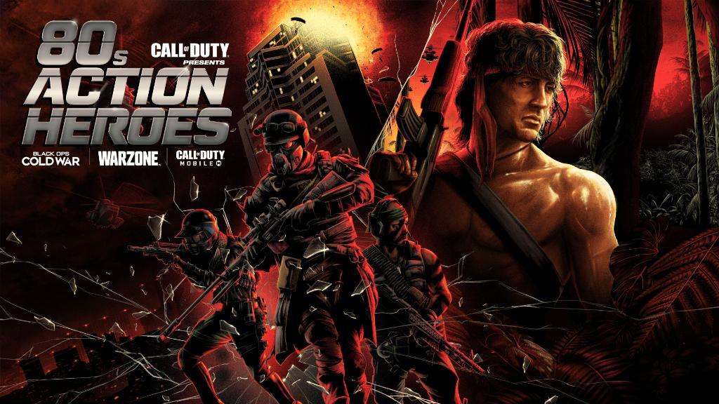 Call of Duty Warzone, Black Ops Cold War e Mobile: Rambo e John McClane arrivano la prossima settimana