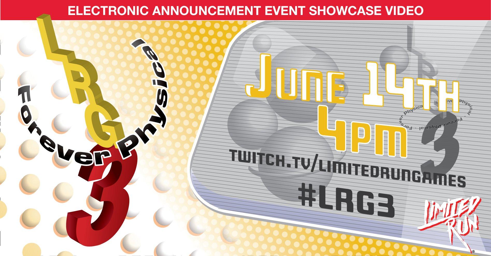 Limited Run Games annuncia 29 nuovi giochi in edizione fisica all'E3 2021