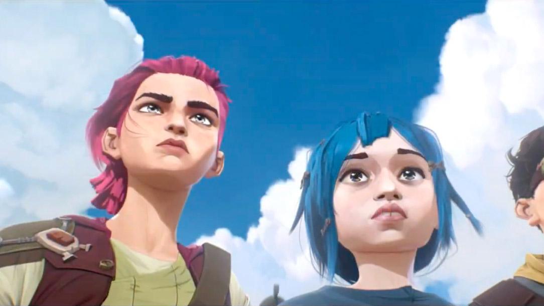 League of Legends, la serie animata Arcane arriva su Netflix in autunno