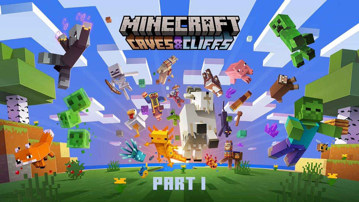 Minecraft, la parte 1 del Caves & Cliffs Update è ora disponibile per il download