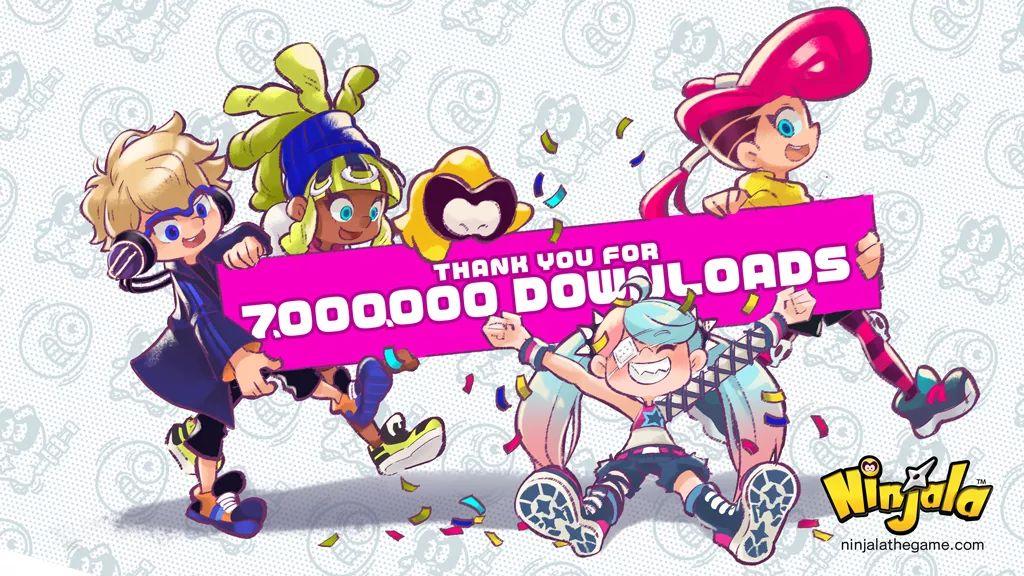 Ninjala, raggiunti i 7 milioni di download