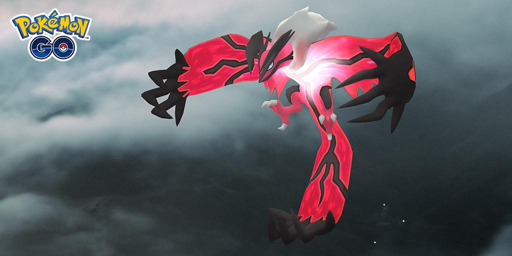 Pokémon GO, confermato l'evento Leggende luminose Y: arriva Yveltal la prossima settimana