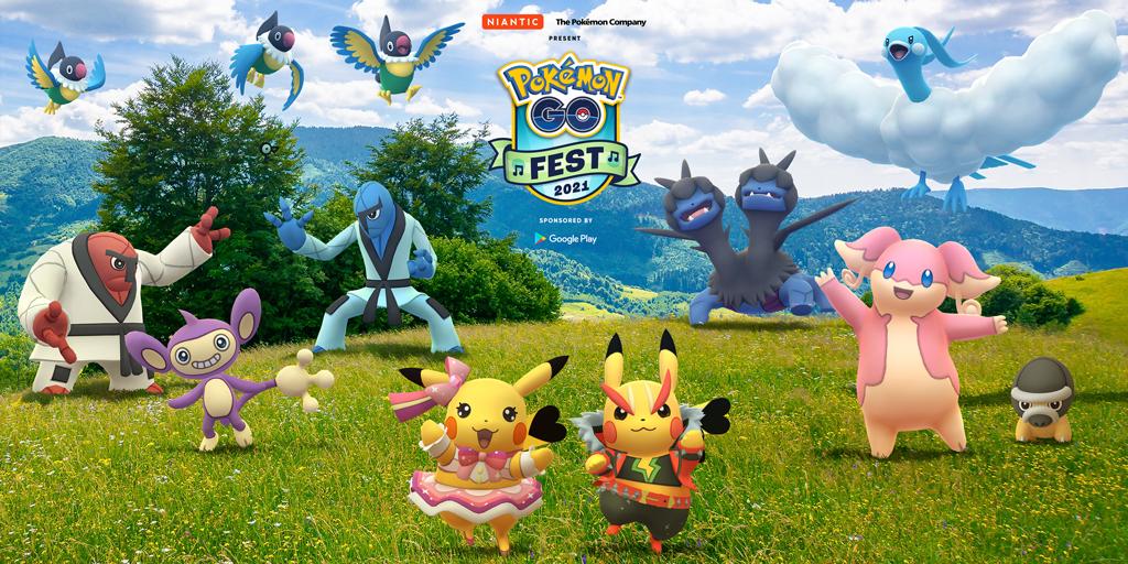 Pokémon GO Fest 2021, svelati nuovi dettagli sull'evento: ci sarà un nuovo Sblocco dell'Ultrabonus