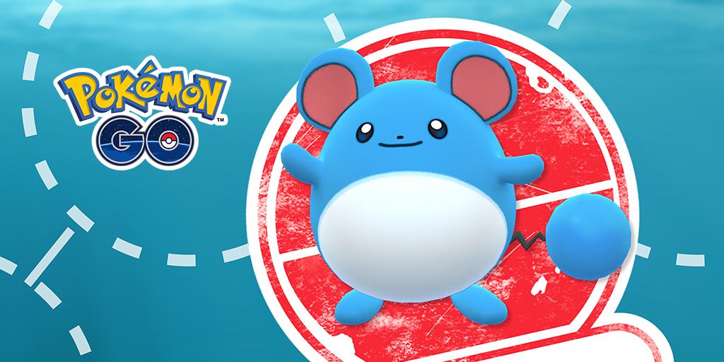 Pokémon GO, in arrivo la ricerca mirata di maggio con Marill