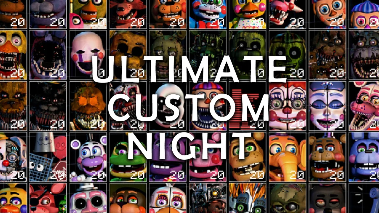 Ultimate Custom Night, mashup di FNAF, è ora disponibile su PS4 e Xbox One: versione Nintendo Switch in arrivo tra pochi giorni