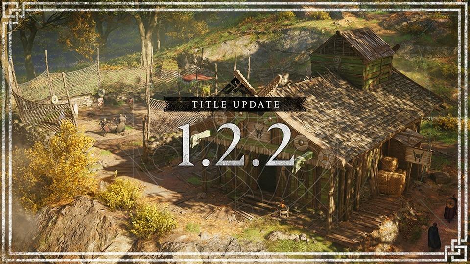 Assassin's Creed Valhalla, patch 1.2.2 in arrivo oggi pomeriggio: le novità del prossimo aggiornamento