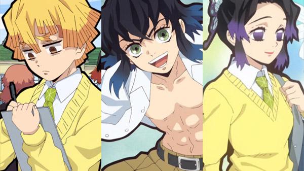 Demon Slayer The Hinokami Chronicles, ci saranno Zenitsu Agatsuma, Inosuke Hashibira e Shinobu Kocho di Kimetsu Gakuen