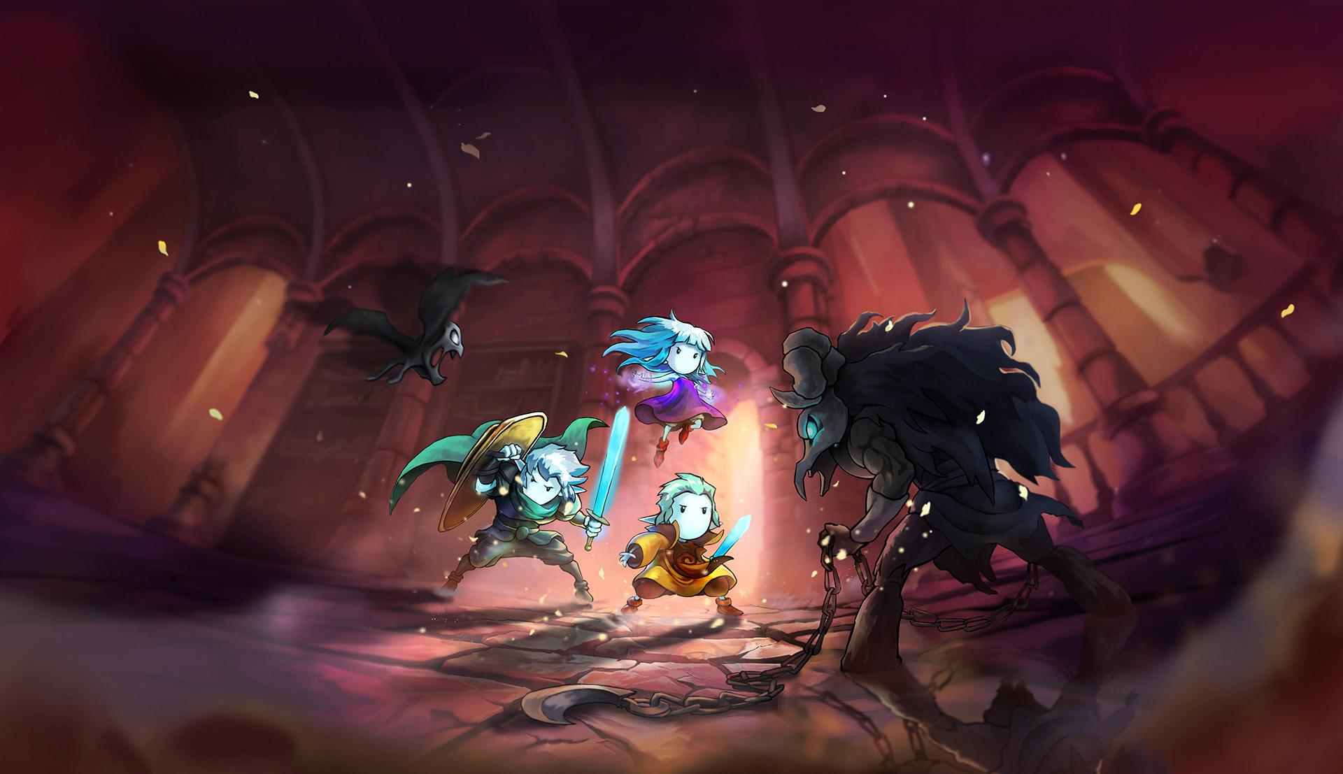 Greak Memories of Azur, l'incantevole avventura disegnata a mano ha una data di uscita