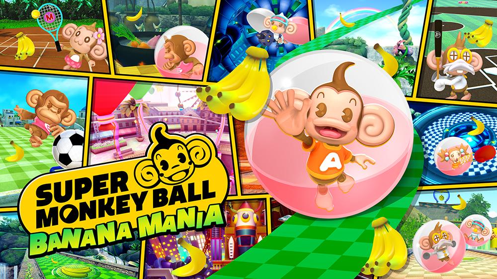 Super Monkey Ball Banana Mania è ora disponibile, pubblicato il trailer di lancio