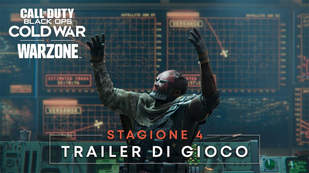 Call of Duty Black Ops Cold War e Warzone, il nuovo gameplay trailer annuncia la data di inizio della Stagione 4