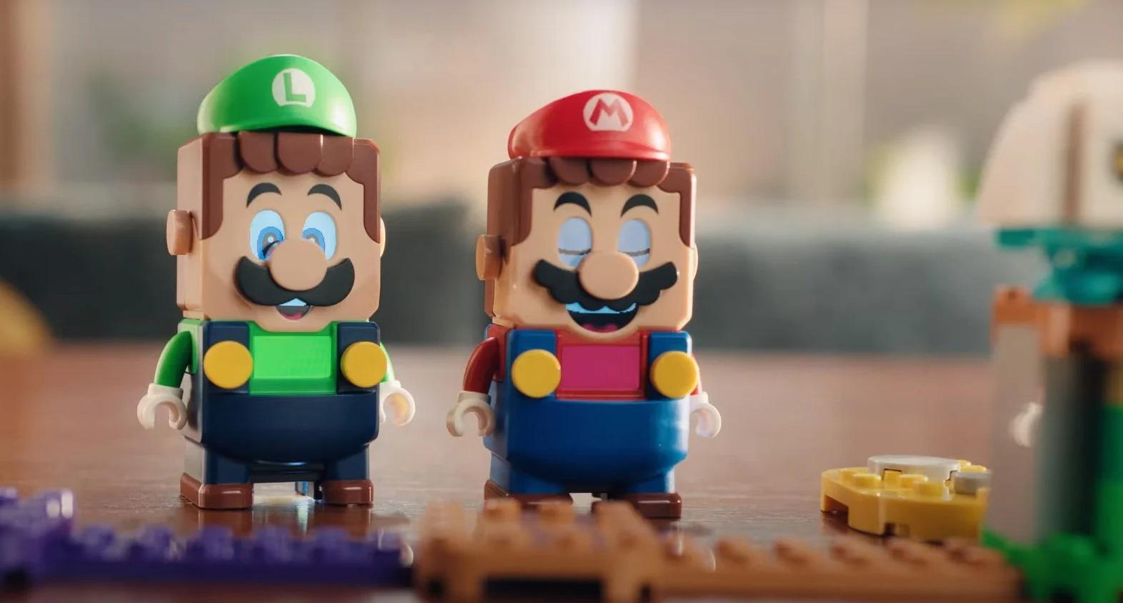 LEGO Super Mario e Luigi, i due set interagiscono con una nuova modalità a due giocatori