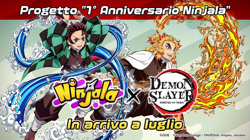 Ninjala, rivelata una collaborazione con Demon Slayer