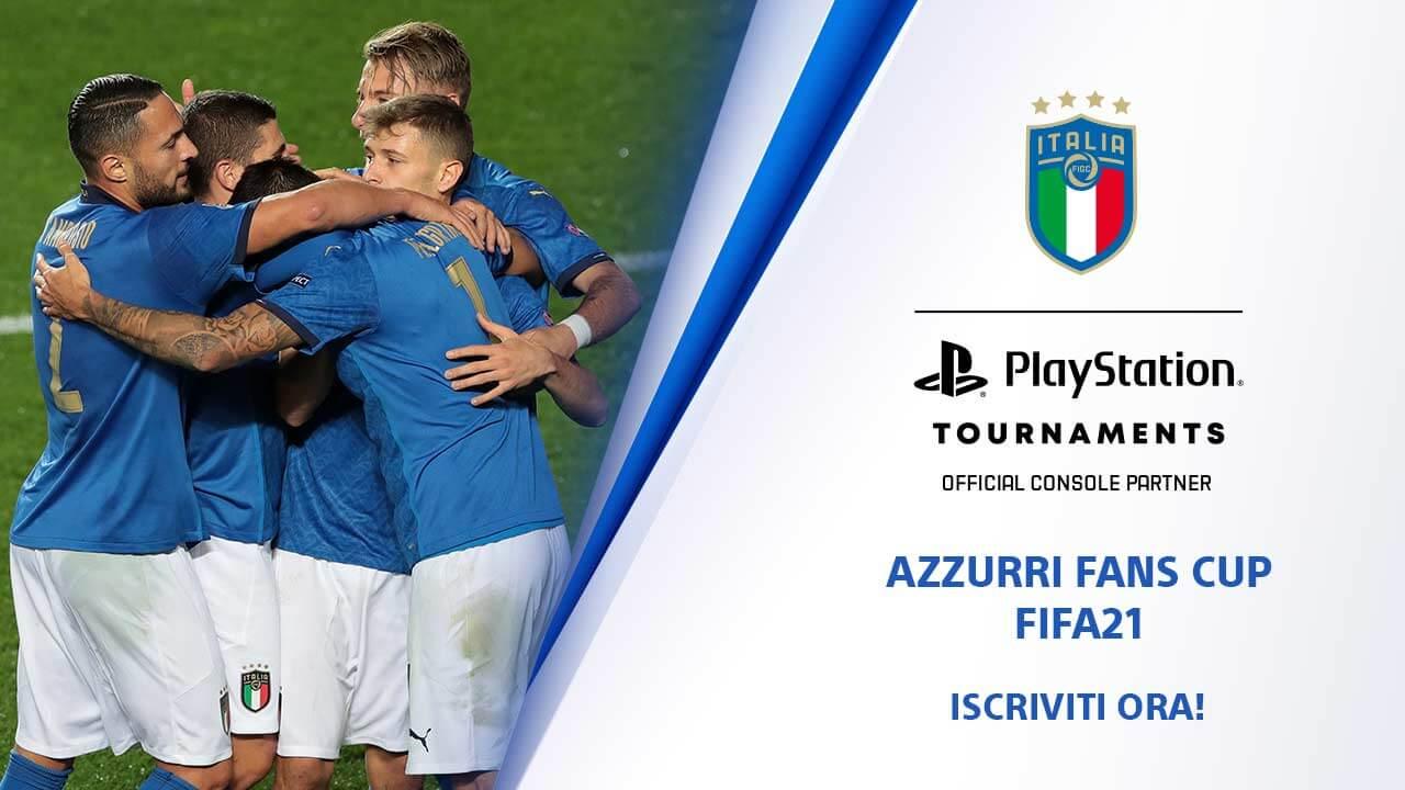 PlayStation è official console partner della Nazionale Italiana di calcio